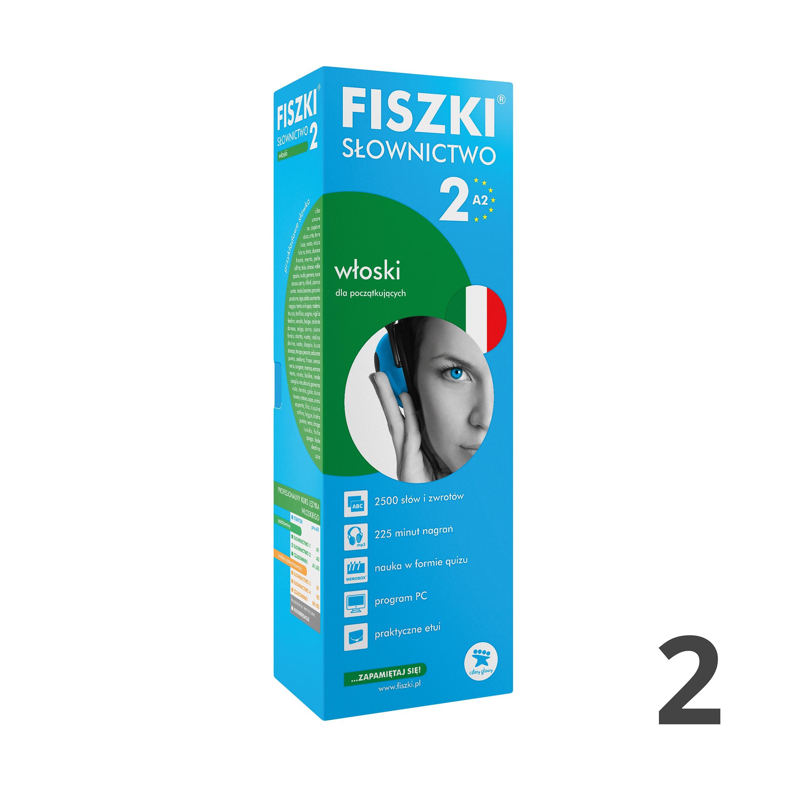 FISZKI - włoski - Słownictwo 2 (A2)