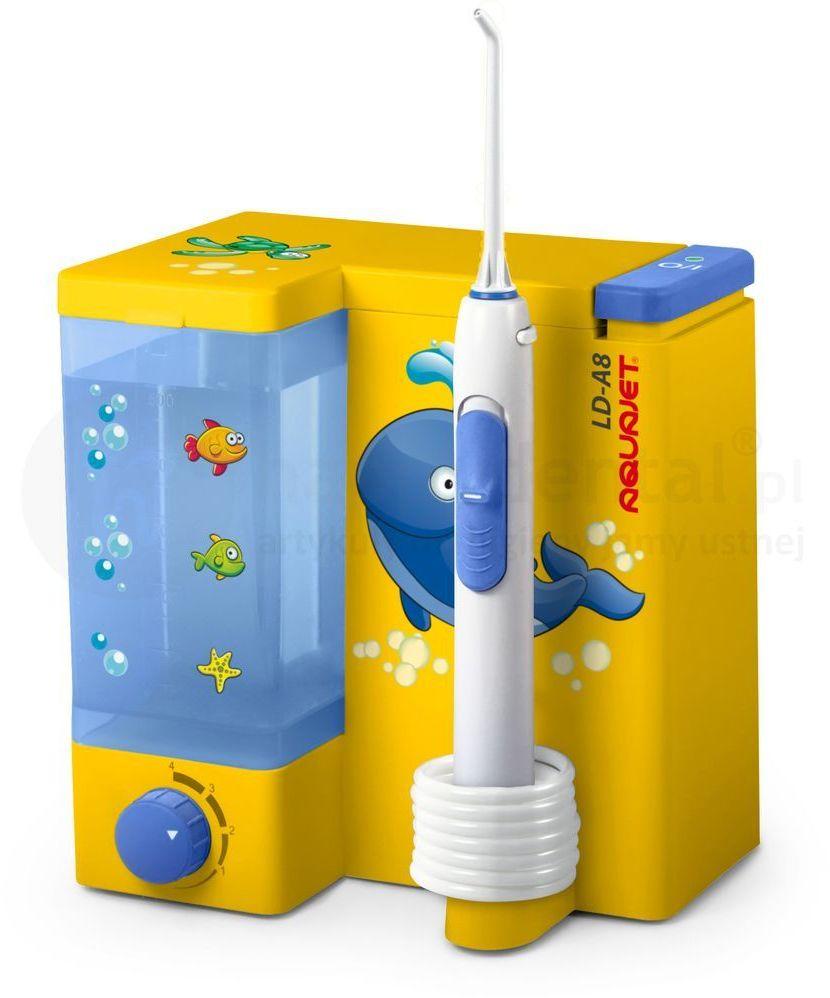 AQUAJET LD-A8 FOR KIDS - irygator stacjonarny dla dzieci do pielęgnacji jamy ustnej + 5 końcówek