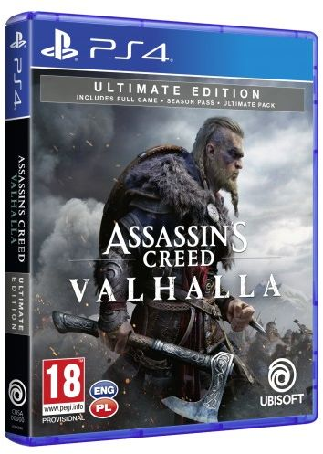 Assassin''s Creed Valhalla Ultimate Edition PS 4