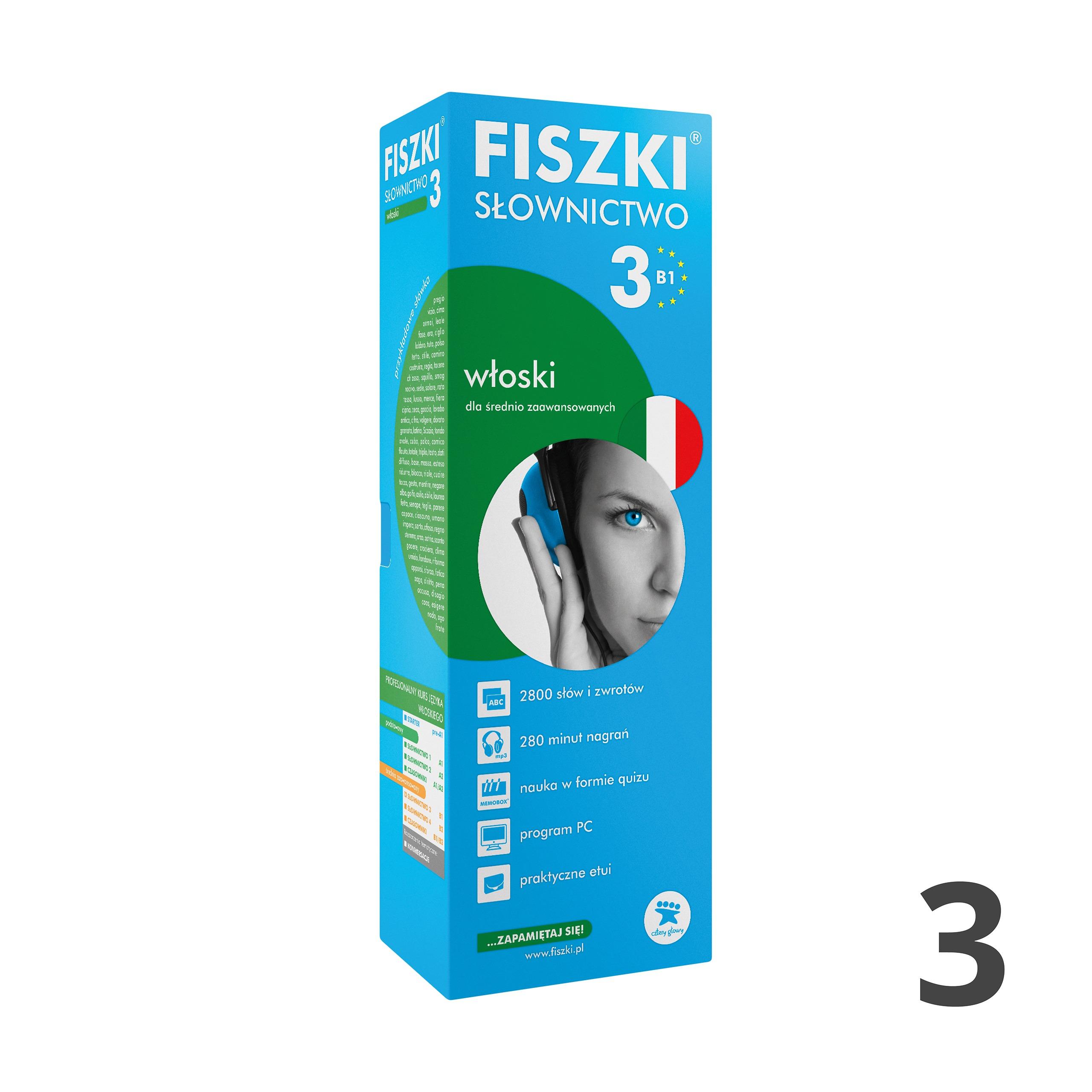 FISZKI - włoski - Słownictwo 3 (B1)