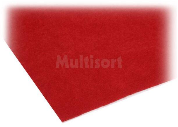 Tkanina obiciowa 1500x700mm czerwony samoprzylepna