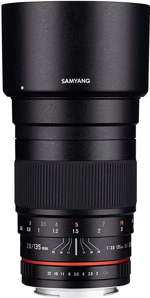 Samyang obiektyw 135 mm, F2.0, Sony Alpha, czarny