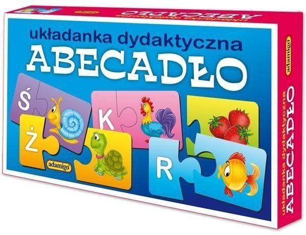Układanka dydaktyczna - Abecadło - Adamigo