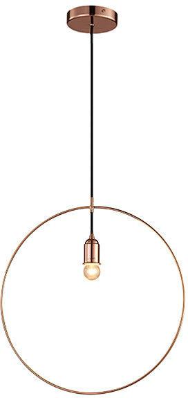 Lampa wisząca Krug AZ2113 AZzardo nowoczesna oprawa w kolorze miedzi