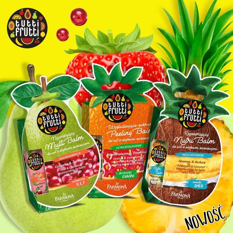 Zestaw Tutti Frutti Balm pielęgnacja ust