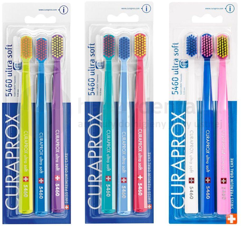 Szczoteczki do zębów CURAPROX CS 5460 Ultra Soft TRÓJPAK