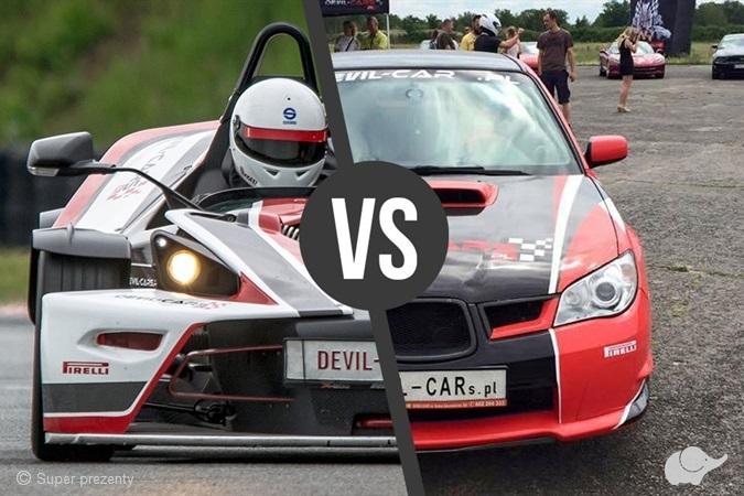 KTM X- Bow vs Subaru Impreza WRX Tor Poznań