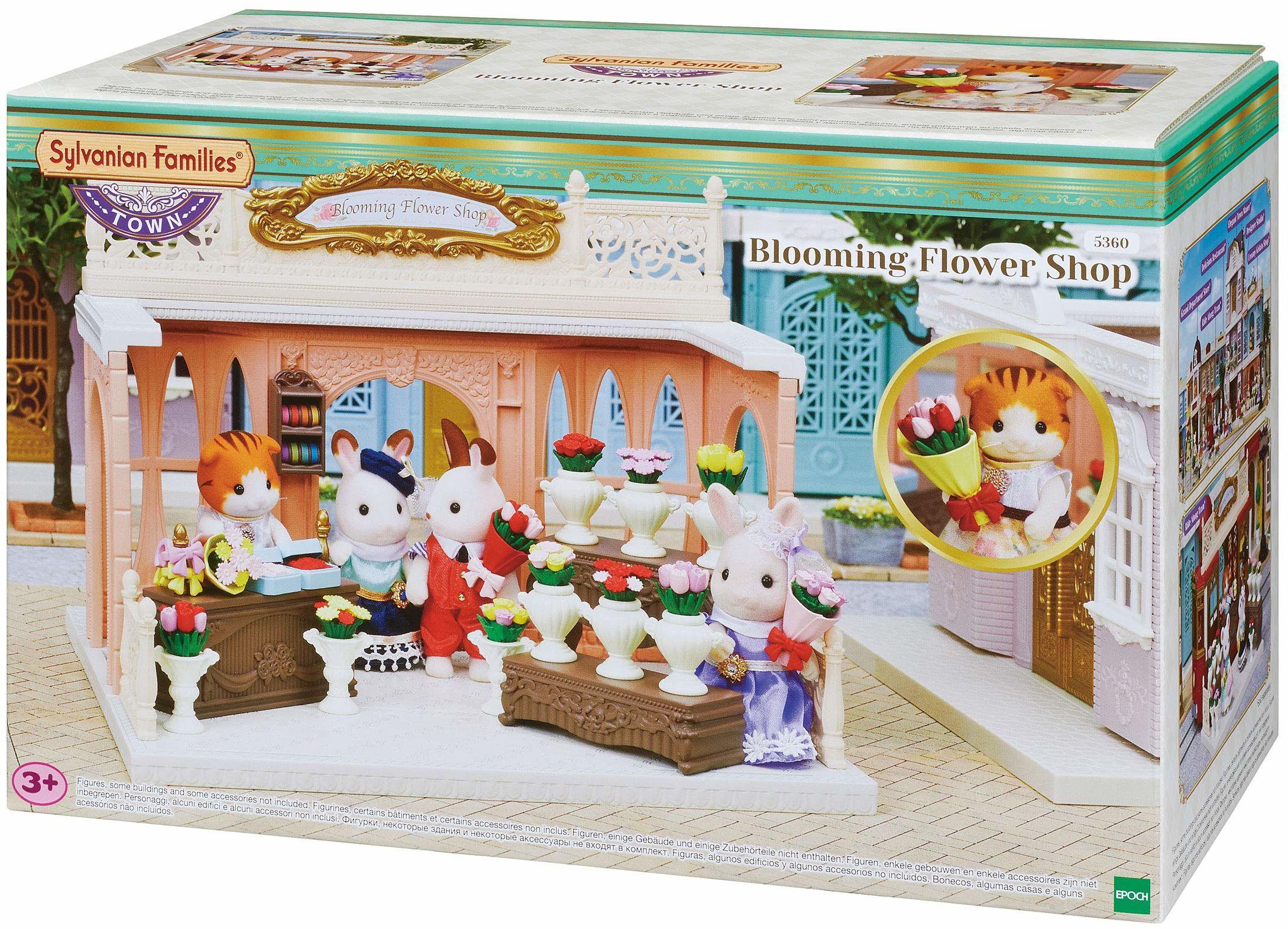 """Sylvanian Families 5360 sklep z kwiatami """"Czarodziejka kwiatów"""" - domek dla lalek zestaw do zabawy"""