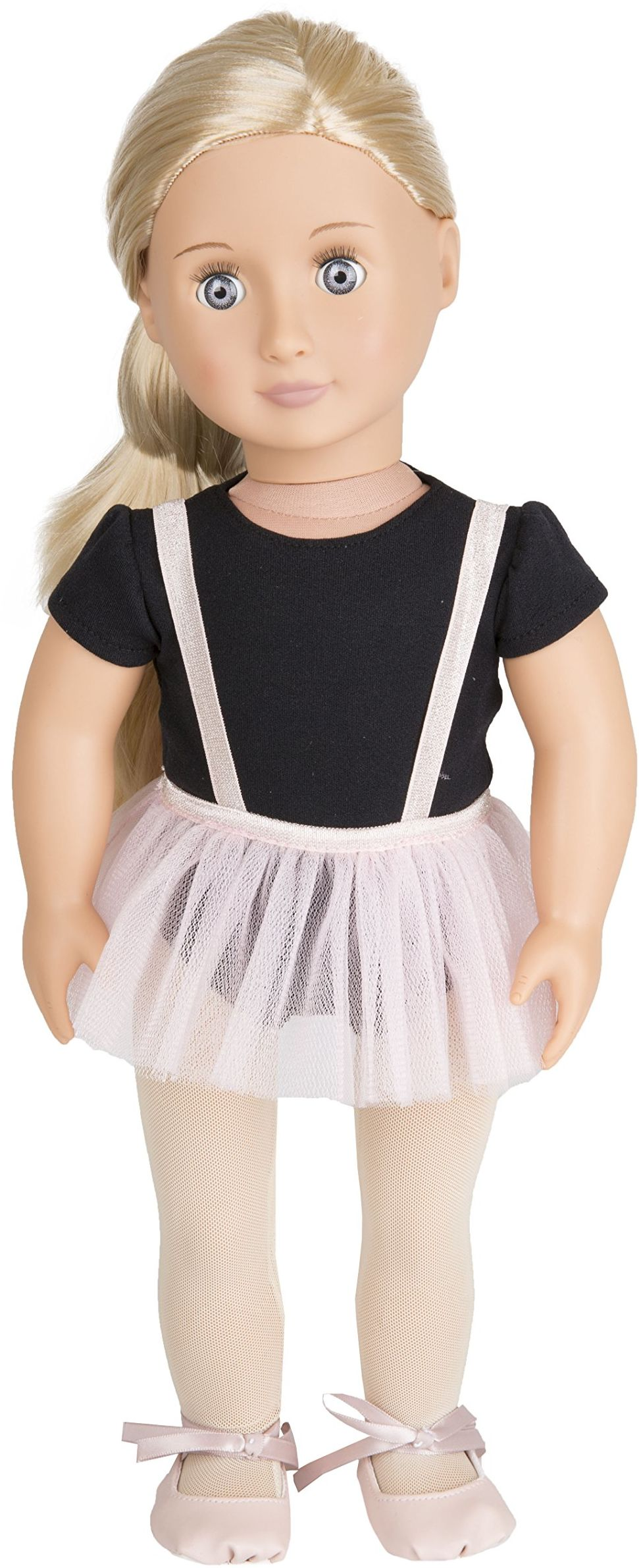 Our Generation 70.31076Z fioletowa zabawka Anna regularna, różna, 18 cali / 46 cm lalka