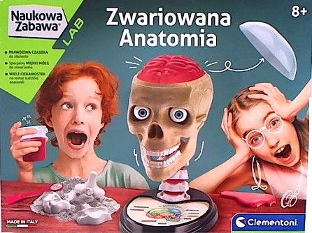 Clementoni Naukowa Zabawa Zwariowana Anatomia 50697