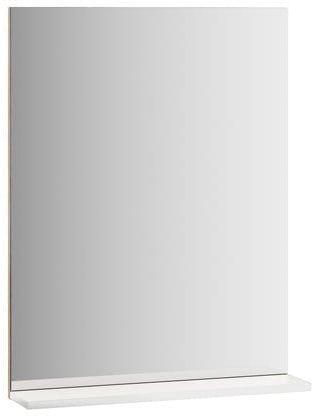 Ravak Lustro Rosa II 76 cm z półką białe X000001296