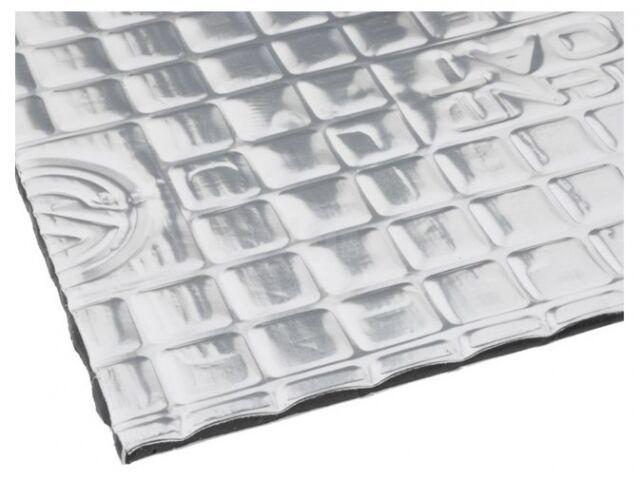Mata tłumiąca folia aluminiowa guma butylowa 750x540x2mm