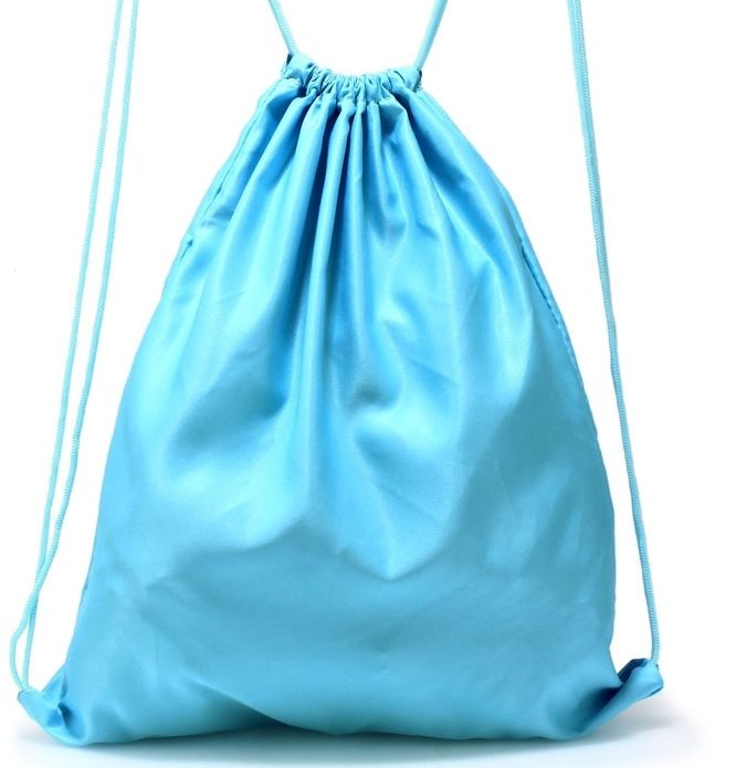 Niebieski worek plecak na sznurkach BASIC