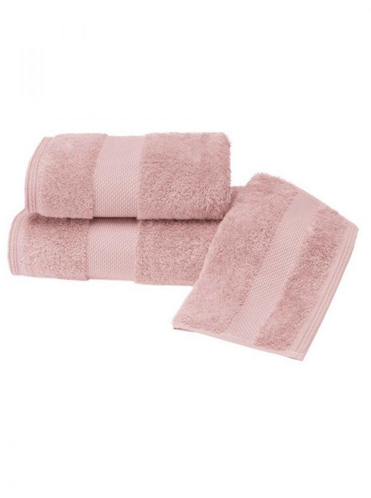 Luksusowe ręczniki DELUXE 50x100cm Stary róż