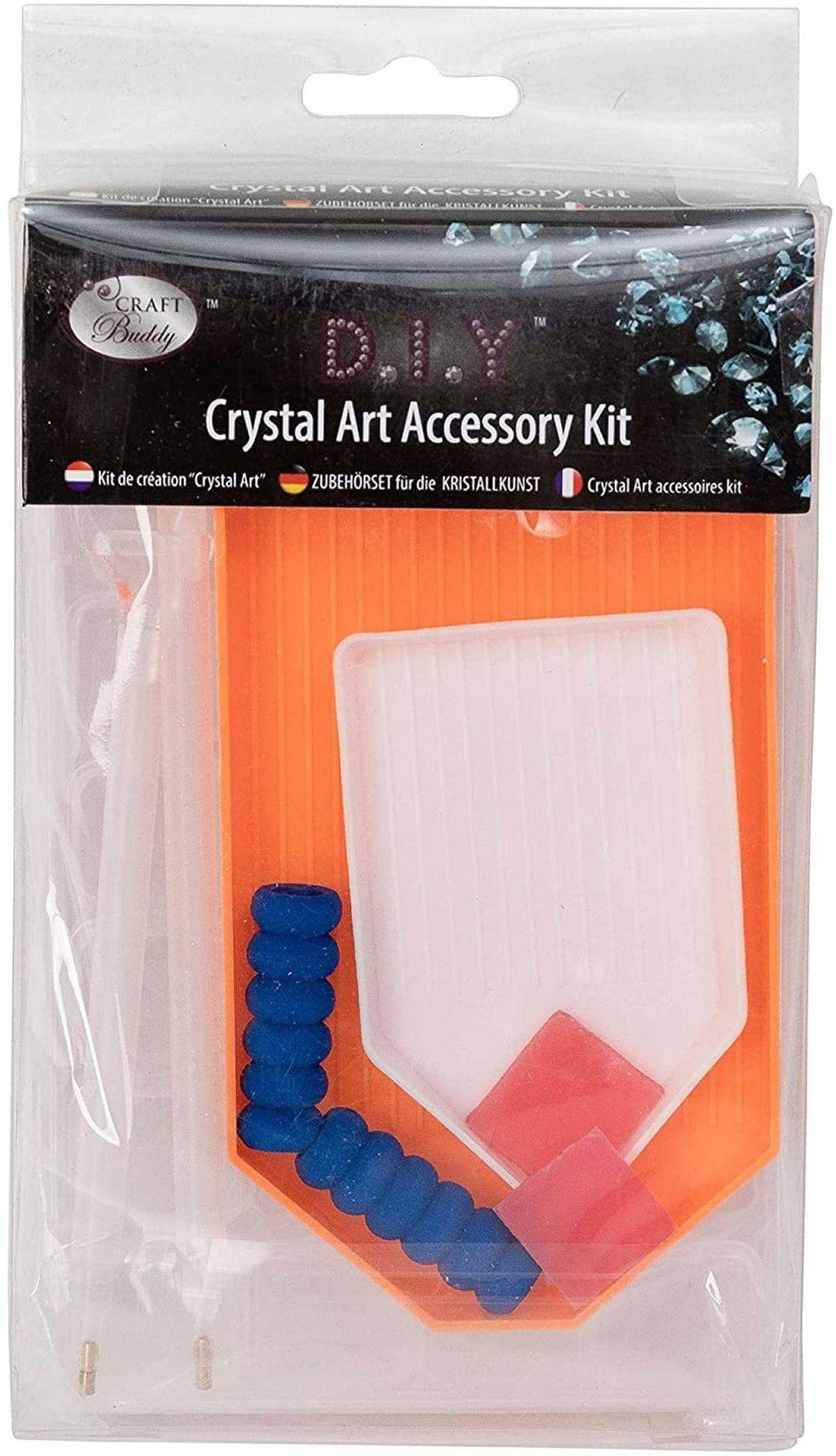Crystal Art CAAP19 akcesoria, wielokolorowe