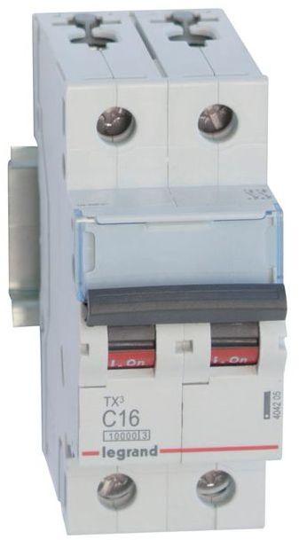 Wyłącznik nadprądowy 2P C 16A 10kA AC S312 TX3 404205