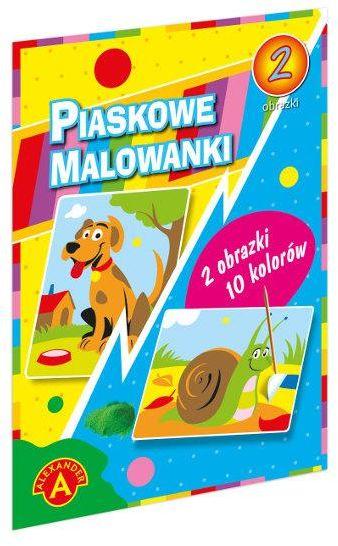 Piaskowa Malowanka Pies Ślimak ZAKŁADKA DO KSIĄŻEK GRATIS DO KAŻDEGO ZAMÓWIENIA