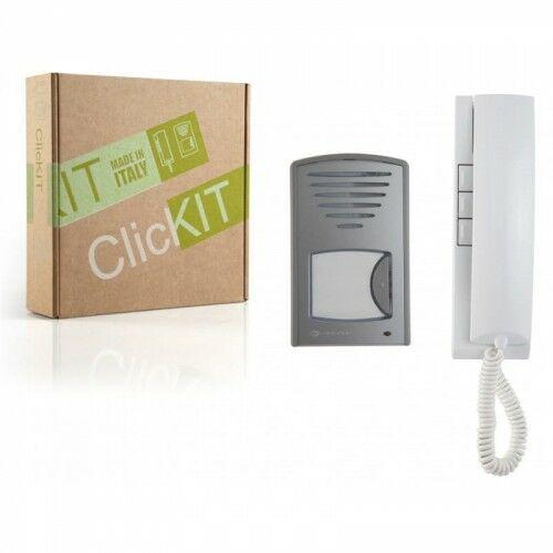 ClicKit 1CKS Zestaw domofonowy natynkowy - Farfisa
