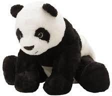 Maskotka panda pluszak