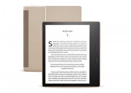 Kindle Oasis 3 - 32GB WiFi Gold + 60 dni Legimi + 700 ebooków GRATIS! - Wysyłka 24H lub odbiór osobisty we Wrocławiu!