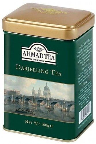 Herbata Ahmad Darjeeling Tea liściasta 100g puszka