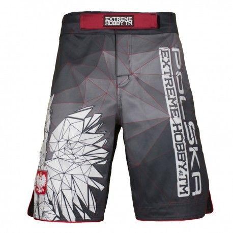 Extreme Hobby spodenki MMA Polska grey