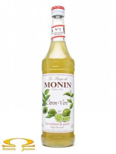 Syrop LIMONKA Citron Vert Lime Monin 700ml
