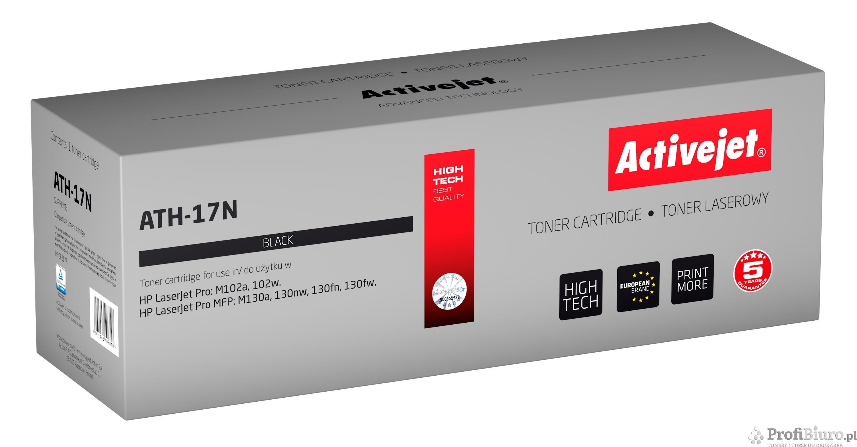 Toner Activejet ATH-17N (zamiennik ; Supreme; 1 600 stron; czarny)