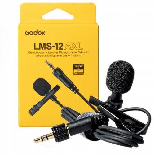Godox LMS-12 AXL mikrofon krawatowy do WMicS1