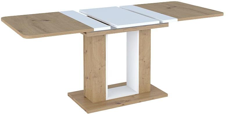 Stół TWINS 140(180)X80 dąb artisan rozkładany