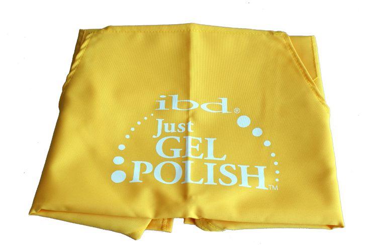 IBD Fartuszek kosmetyczny Just Gel Polish żółty