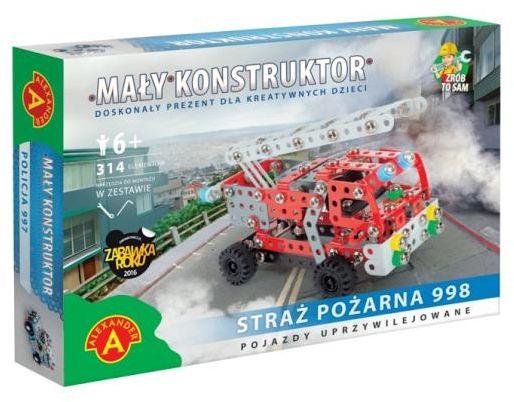 Mały Konstruktor Straż Pożarna ZAKŁADKA DO KSIĄŻEK GRATIS DO KAŻDEGO ZAMÓWIENIA