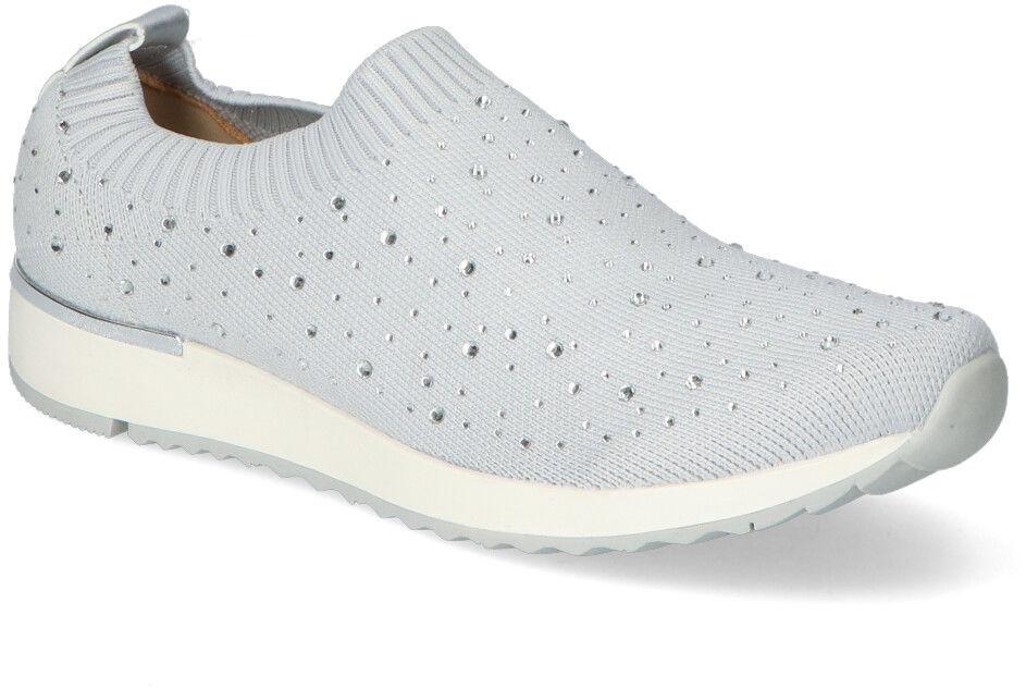 Szare Sneakersy Filippo z diamentami Filippo DP2112/21GR Grey