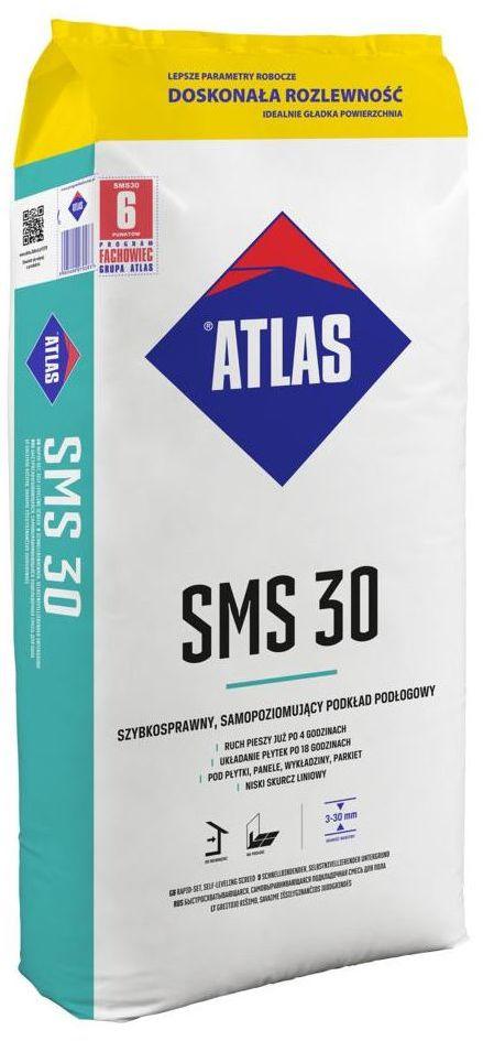 Podkład podłogowy samopoziomujący SMS30 25 kg ATLAS