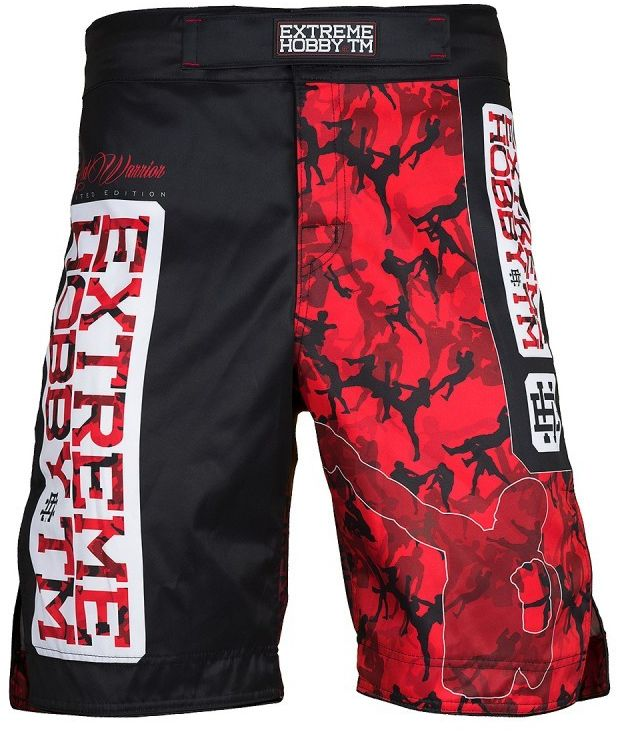 Extreme Hobby spodenki MMA RED WARRIOR