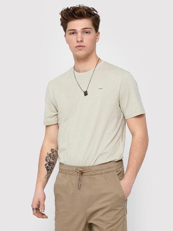 ONLY & SONS T-Shirt Adam 22019288 Szary Regular Fit