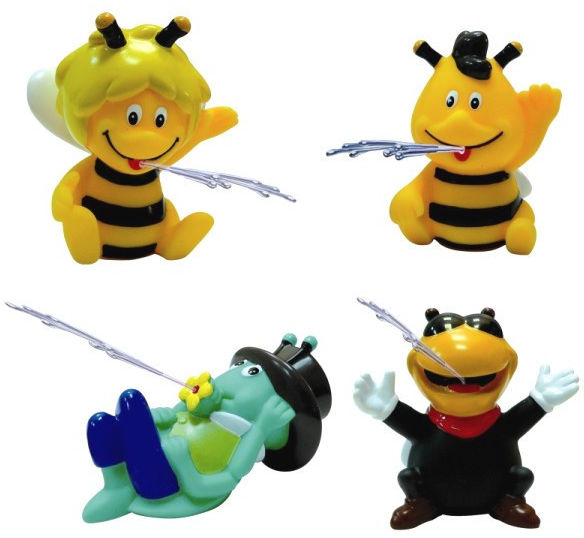 Zabawki do kąpieli Maja display 12 sztuk