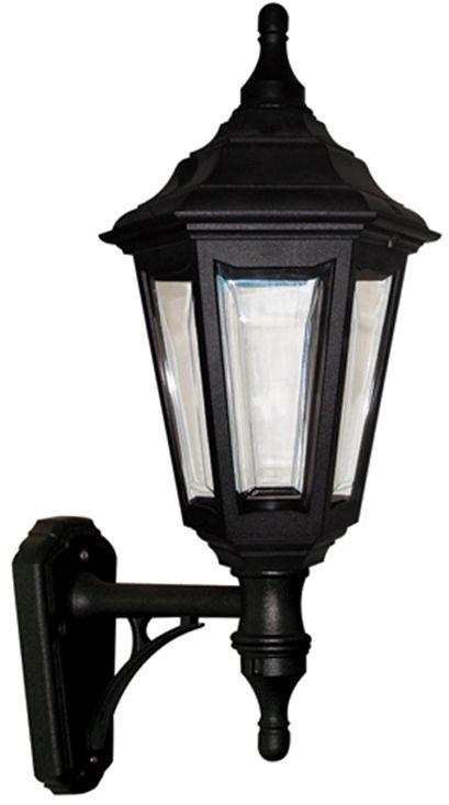 Kinkiet zewnętrzny Kinsale WALL Elstead Lighting czarna oprawa w dekoracyjnym stylu