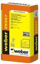 WEBER ZK557 Fuga do klinkieru i elewacji NATURAL 2
