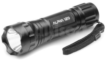 Latarka LED ALPHA 120lm 1W (3xR03) fi35x120mm