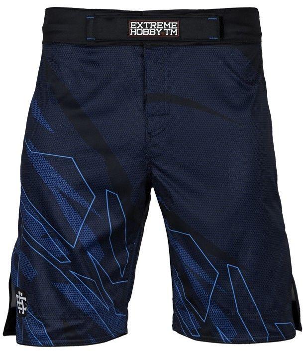 Extreme Hobby spodenki MMA SHADOW niebieskie