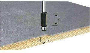 Festool frez do wyrównywania HW, z trzpieniem 8 mm HW S8 D12,7/NL25 (491027) + TRANSPORT 0 zł