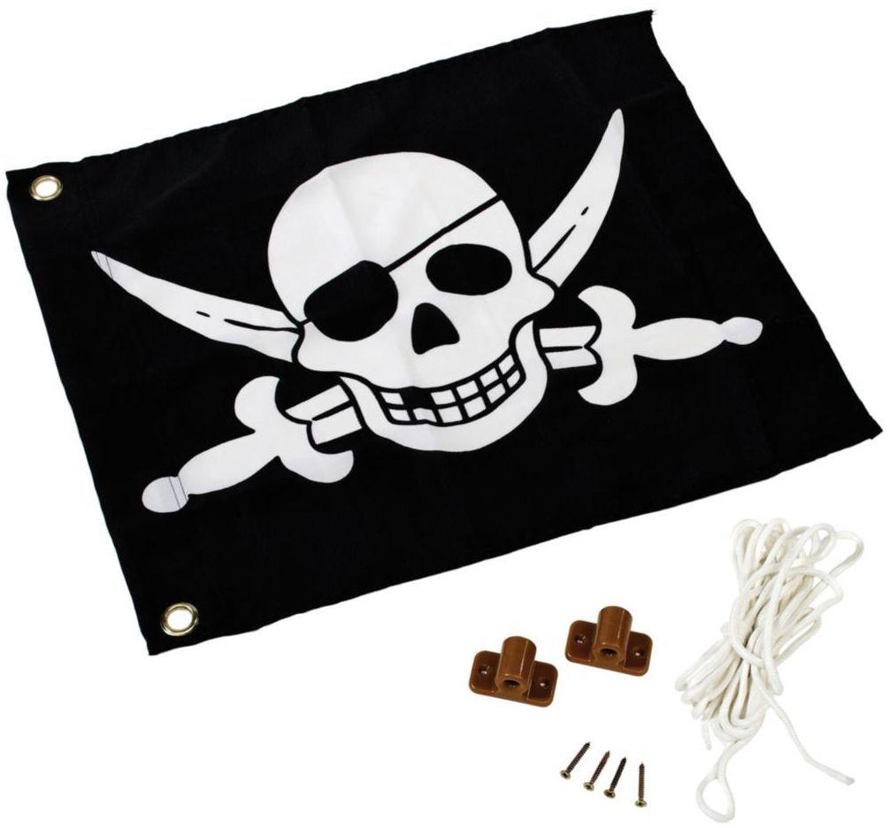 Flaga pirat z systemem podnoszenia 55 x 45 cm KBT