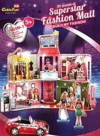 Puzzle 3D Superstar Fashion Mall - Cubic Fun