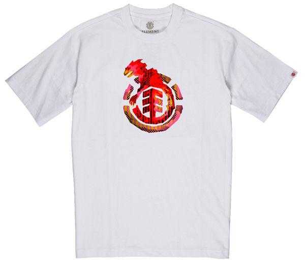 Element WBYC OPTIC WHITE t-shirt dziecięcy