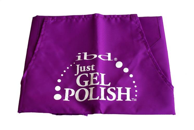 IBD Fartuszek kosmetyczny Just Gel fioletowy