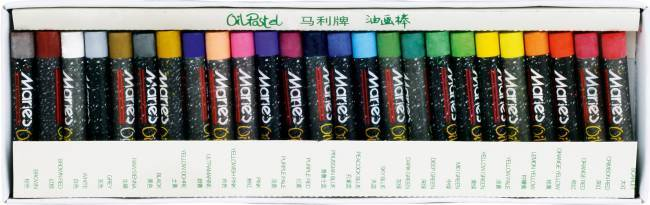 Pastele olejne 25 kolorów MARIE''S - KWTR250