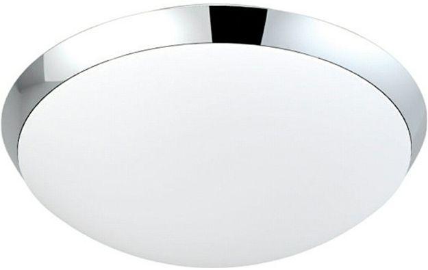 Plafon Rita AZ1307 AZzardo nowoczesna oprawa łazienkowa w kolorze chromu