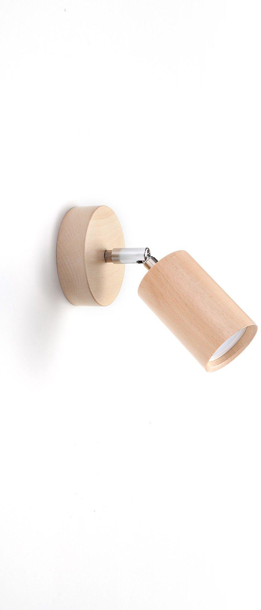 Kinkiet BERGE naturalne drewno SL.0701 - Sollux Do -17% rabatu w koszyku i darmowa dostawa od 299zł !