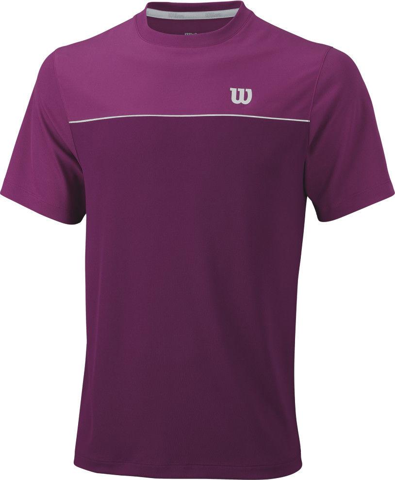 Wilson M Star Bonded Crew - purple